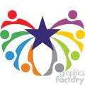 humanity social vector icon