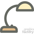 desk light furniture icon