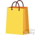 shopping bag vector flat icon