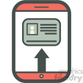 id kyc smart device vector icon