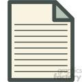 paper files vector icon