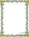 moon stars and clouds border with bells gif