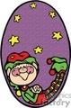 christmas elf sleeping gif, jpg, eps