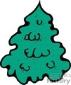 simple undecorated christmas tree gif, jpg, eps