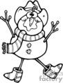 scarecrow snowman