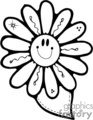 flower flowers nature daisy   flowers001b clip art nature flowers  gif, jpg, eps