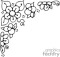 flower flowers nature daisy   flowers011b clip art nature flowers  gif, jpg, eps