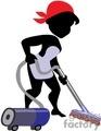 women vacuuming floor gif, jpg, eps