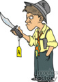 pi private investigator detective police clues searching magnifying glass crime evidence   private007_color clip art people police-firemen  gif