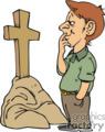 religion religious christian cross wonder guy thinking memories christian085_ssc_c_ clip art religion christian  gif