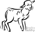 christian religion religious lamb lambs lds   christian_ss_bw_175 clip art religion christian