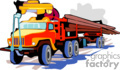 heavy equipment construction truck trucks log logs   transport_04_052 clip art transportation land  gif