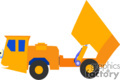 heavy equipment construction truck trucks dump   transport_04_102 clip art transportation land  gif