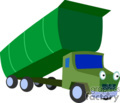 heavy equipment construction truck trucks dump   transport_04_122 clip art transportation land  gif