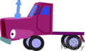 heavy equipment construction truck trucks semi   transport_04_132 clip art transportation land  gif
