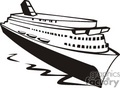vacation ship ships cruise   transportationss0017b clip art transportation water