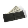 wallet with money in it