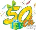 50th birthday  gif, png, jpg, eps