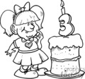 3rd birthday gif, png, eps
