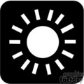 sun exposure icon