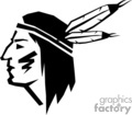 vector vinyl-ready vinyl ready clip art images graphics signage indian native american indians warrior warriors gif, png, jpg, eps