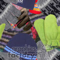 bacground backgrounds tiled seamless stationary tiles bg jpg images winter mitten mittens hat hats cloths clothing