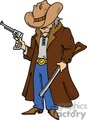 cartoon gunslinger  gif, png, jpg, eps