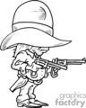 gunslinger child gif, png, jpg, eps