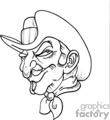 gunslinger drawing