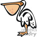 Cartoon Pelican Bird