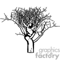 vector vinyl-ready vinyl ready cutter eps jpg gif png tree trees nature black white profile silhouette silhouettes gif, png, jpg, eps