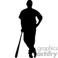people shadow shadows silhouette silhouettes black white vinyl ready vinyl-ready cutter action vector eps png jpg gif clipart baseball player players batter batters gif, png, jpg, eps