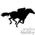 Equestrian horseback rider
