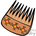 indian indians native americans western navajo comb combs vector eps jpg png clipart people gif gif, png, jpg, eps