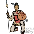 indian indians native americans western navajo warrior vector eps jpg png clipart people gif