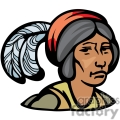 indian indians native americans western navajo face head female vector eps jpg png clipart people gif gif, png, jpg, eps