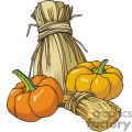 pumpkins and wheat gif, png, jpg, eps