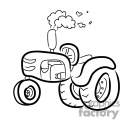 farmall tractor cartoon
