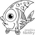 a fish with tribal design on it