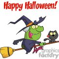 happy holidays greeting with harrison rode a broomstick with a cat gif, png, jpg, eps