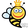 Smiling queen bee