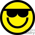 emoticon with sunglasses gif, png, jpg, eps, svg, pdf