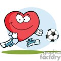 2561-Royalty-Free-Healthy-Red-Heart-Playing-With-Soccer-Ball