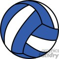 volleyball blue and white