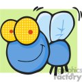 Cartoon-Fly-Character-with-green-background
