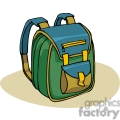 cartoon backpack with padded straps