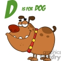 d is for dog gif, png, jpg, eps, svg, pdf