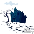 haunted house gif, png, jpg, eps, svg, pdf