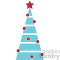 decorated Christmas tree design