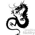 chinese dragons 009 vector clip art image